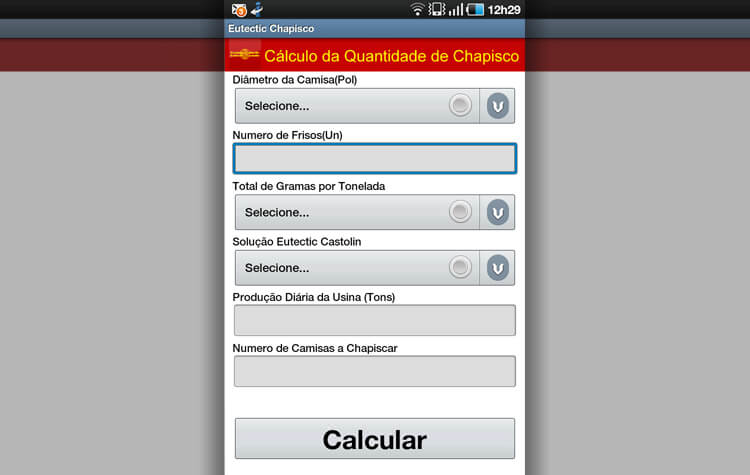 Eutectic - Android - Calculo 2